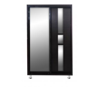 Шкаф-купе 1.2 м (1 дверь ДСП/1 дверь ЗЕРКАЛО) ЦК